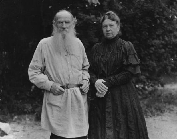 Leo and Sophia Tolstoy