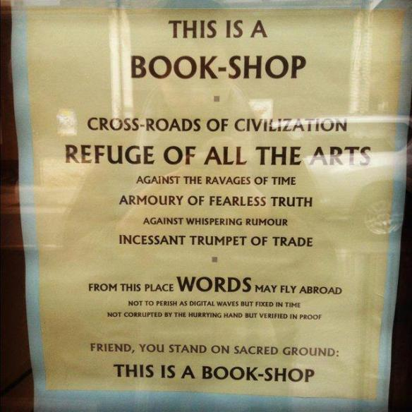 Book Shop quote