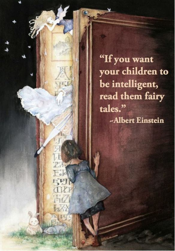 Einstein and Fairy Tales