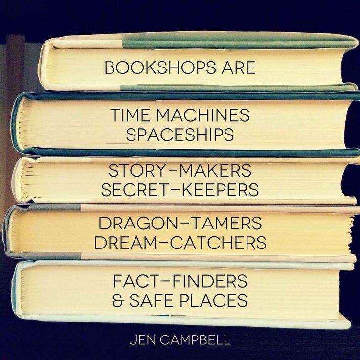 QUOTE bookshops are