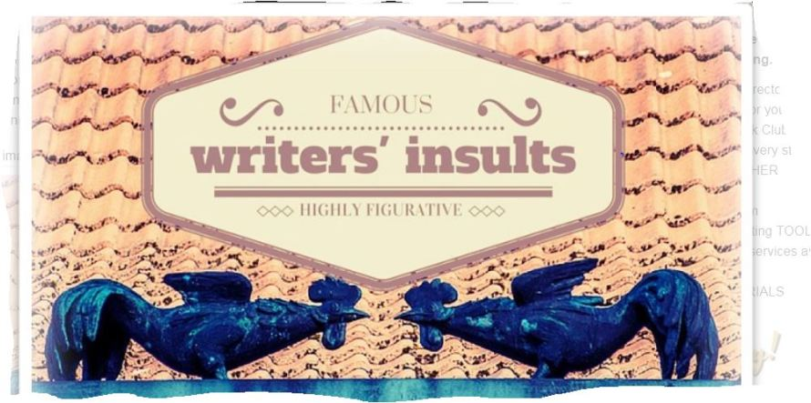 Writers' insults