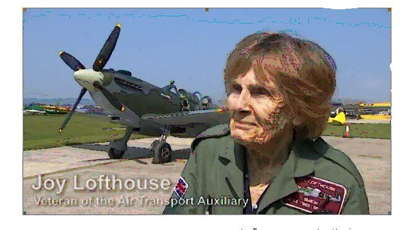 Joy in a Spitfire