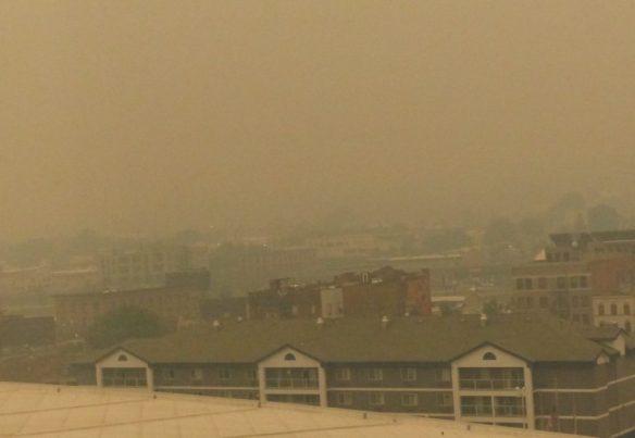 Smoke In Spokane