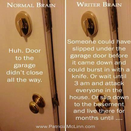 Writer Paranoia poster