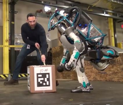 Man Vs Robot photo