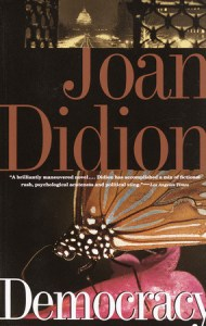 Democracy Joan Didion cover