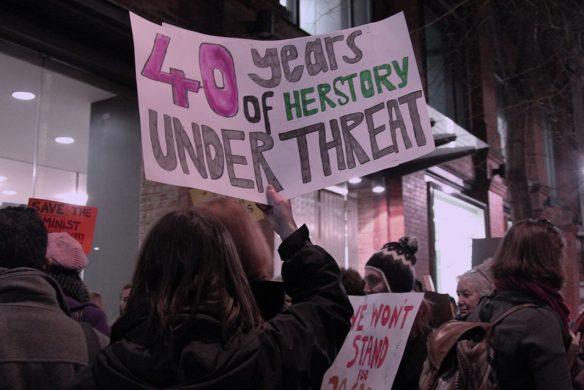 Herstory demonstration
