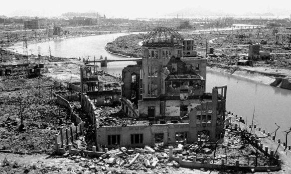 Hiroshima destruction photo