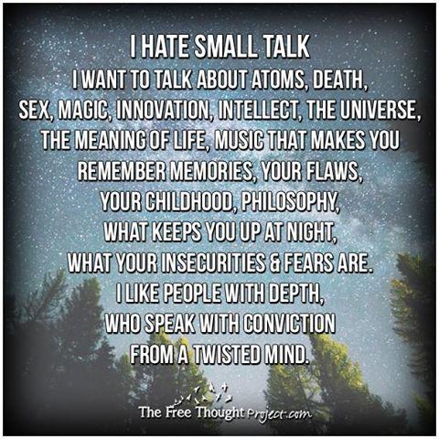 Small Talk Poster