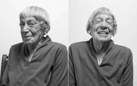 Ursula Le Guin head shots