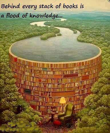 A Flood of knowledge poster