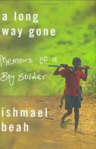 Refugee author Ishmael Beah book cover