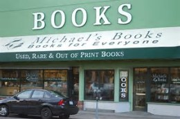 Michael's bookstore front