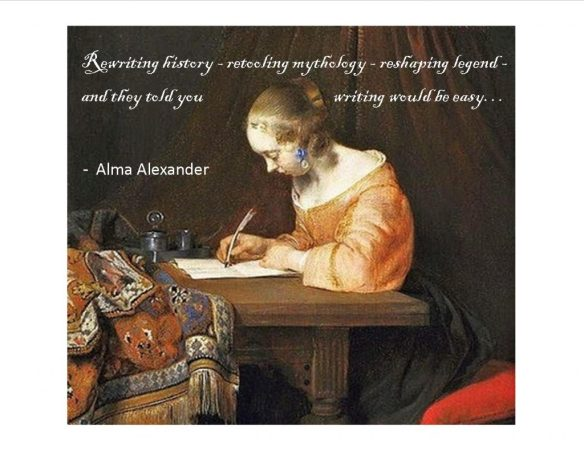 ALMA Rewriting History poster
