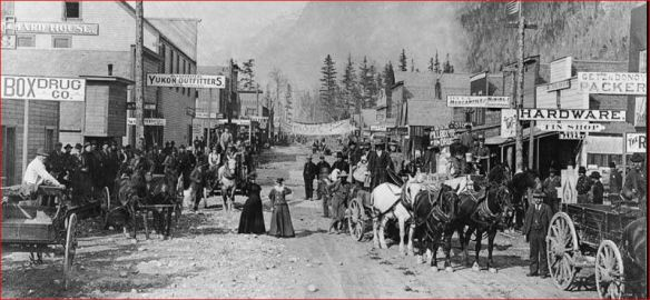 Gold rush Skagway