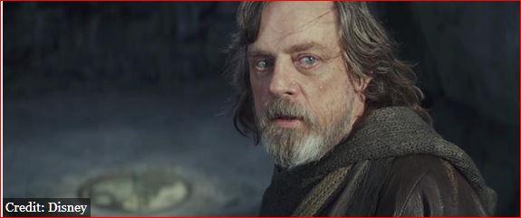 Luke Skywalker in The Last Jedi photo