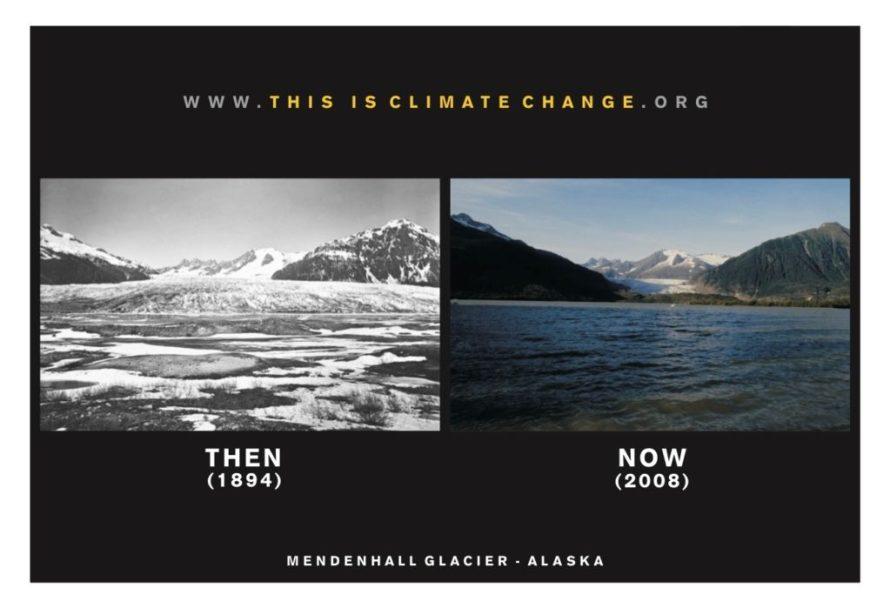 Glacier melt photo