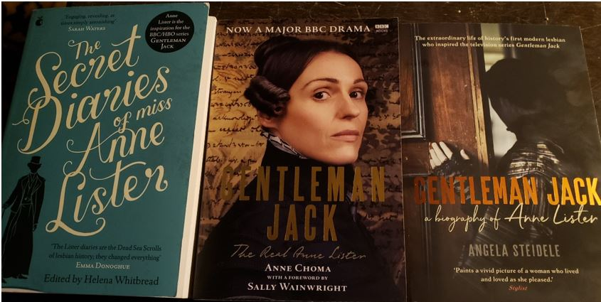 Photo of Anne Lister Book Covers