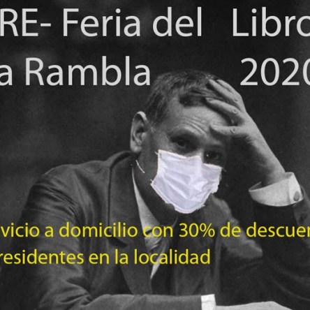 FERIA DEL LIBRO EN LA RAMBLA 2020