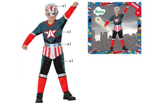 Disfraz super héroe niño