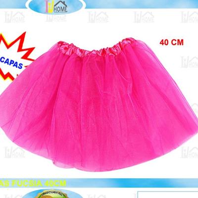 Tutu disfraz rosa