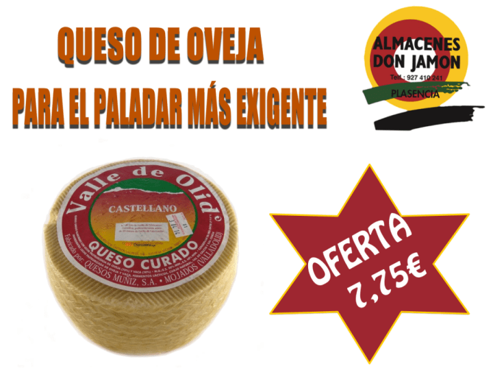 Queso manchego Valle de Olid