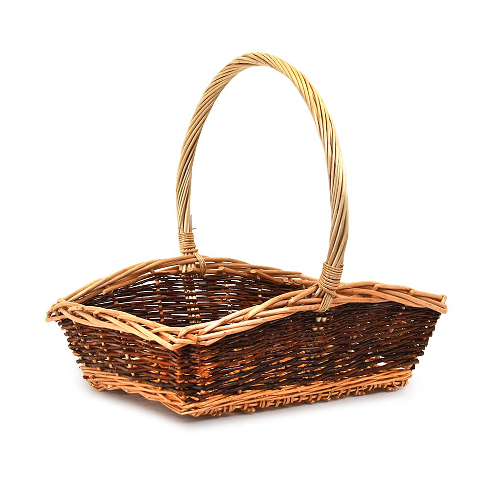 Buy Rectangular Fruit Baskets With Handle 618 Series