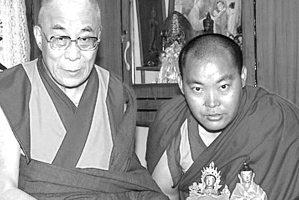 Lama Jampa y Dalai Lama