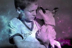 Mas allá niños y animales