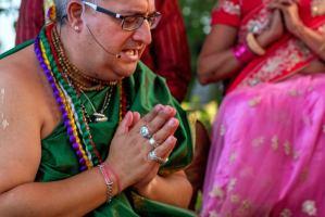 Ceremonia protección hindú