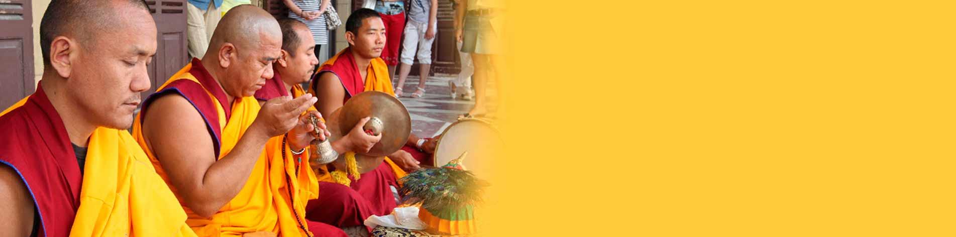 Pujas y bendiciones Monjes Tibetanos en España