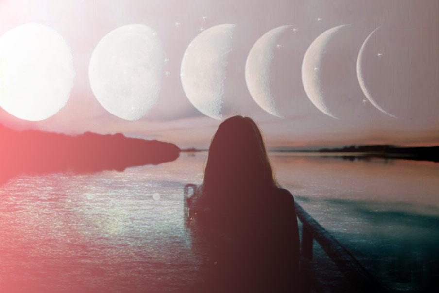 Energia lunar sanación femenina