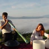 Terapia sonido vibraciones con Ixone Oyarzabal y Nagiska