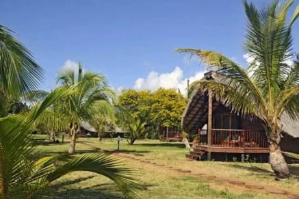 Bungalow no Zongoene Lodge, Moçambique