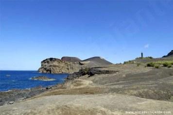 Vista do vulcão dos Capelinhos