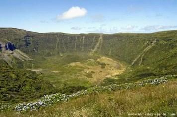 Caldeira, uma das atrações turísticas da ilha do Faial