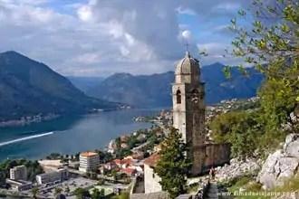 Fiordes de Kotor, Montenegro