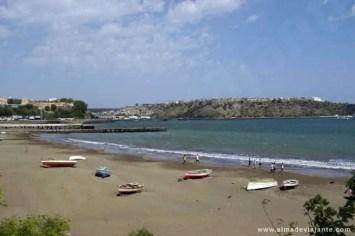 Praia Gambôa, ilha de Santiago, Cabo Verde
