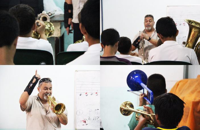 Escuela de Vientos de la Iglesia Evangélica Metodista de Almagro