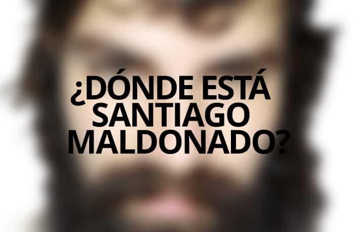 Un clamor recorre nuestro país: ¿Dónde está Santiago Maldonado?