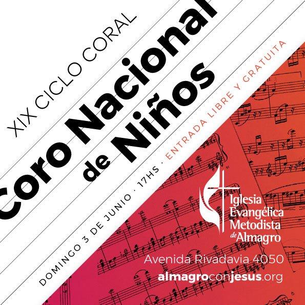 XIX Ciclo Coral – Coro Nacional de Niños