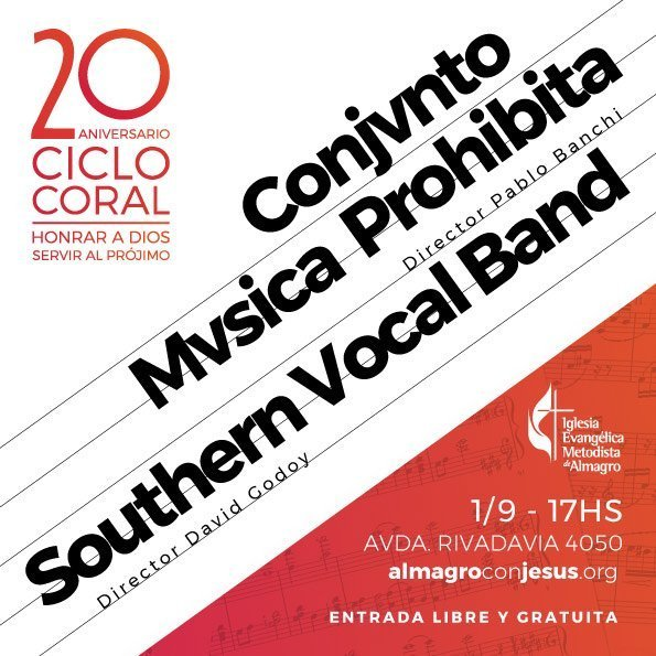 Conjvnto Mvsica Prohibita & Southern Vocal Band