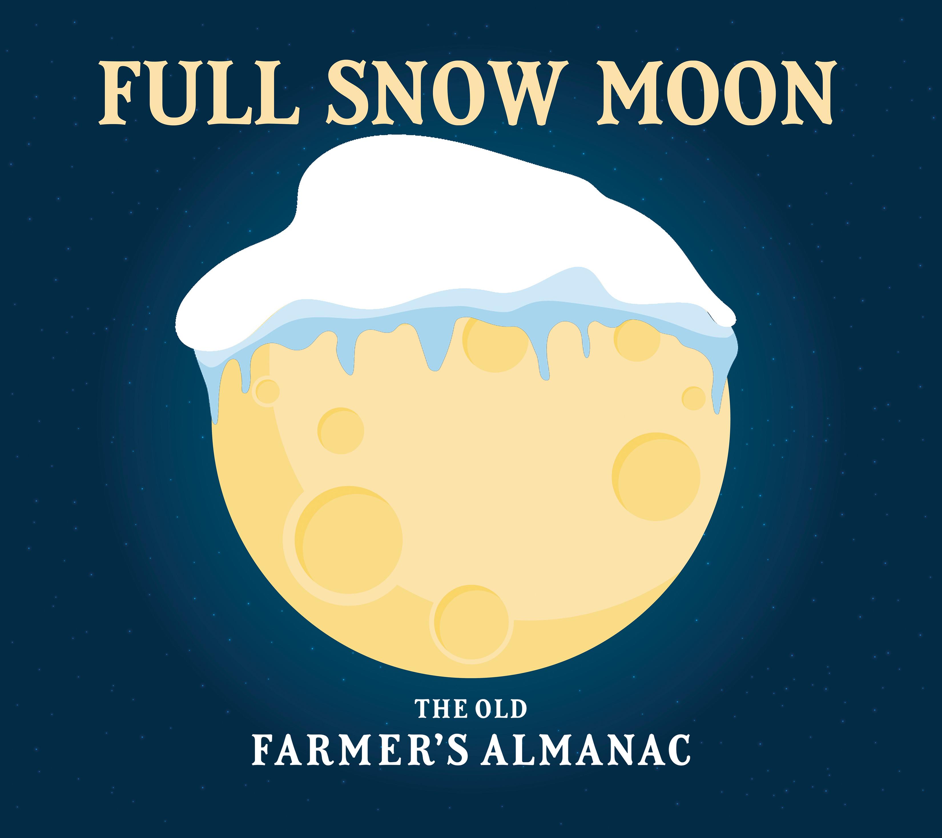 Full Moon For February The Full Snow Moon