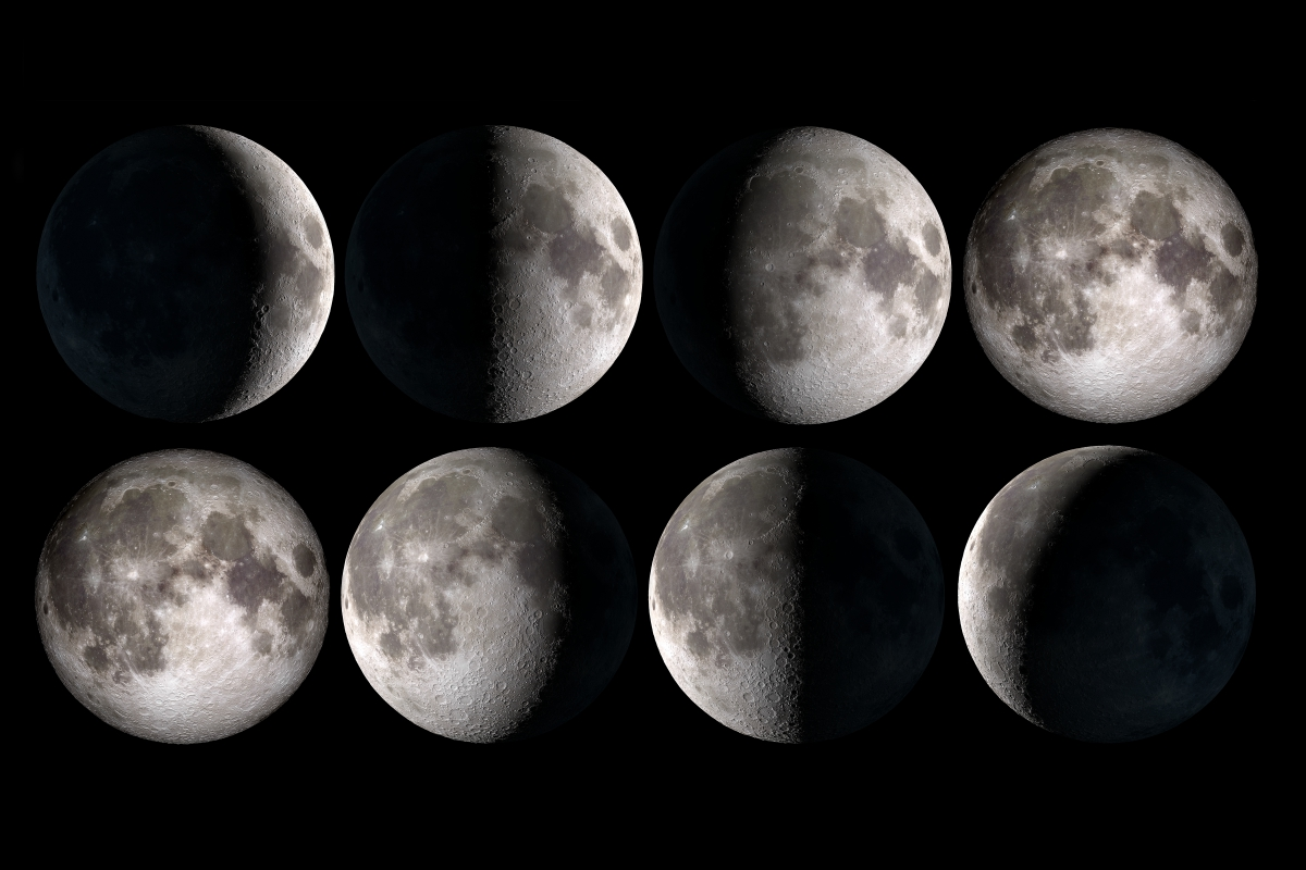 Moon Phase Calendar For