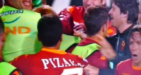 Tutti in delirio per Totti