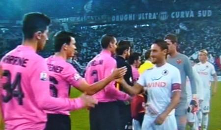 Juve-Roma nello Juventus stadium