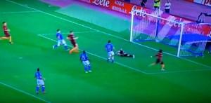 Napoli-Roma 1-3 Salah la chiude