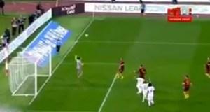 Errore di Peres sullo 0-0