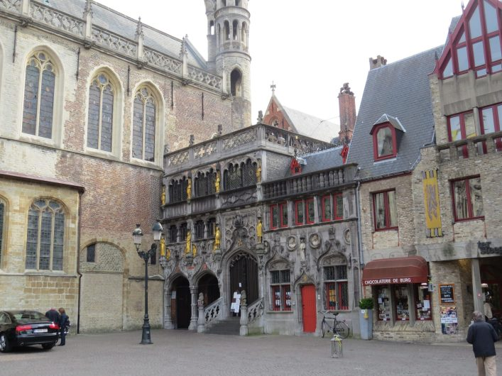Praça Burg - Bruges