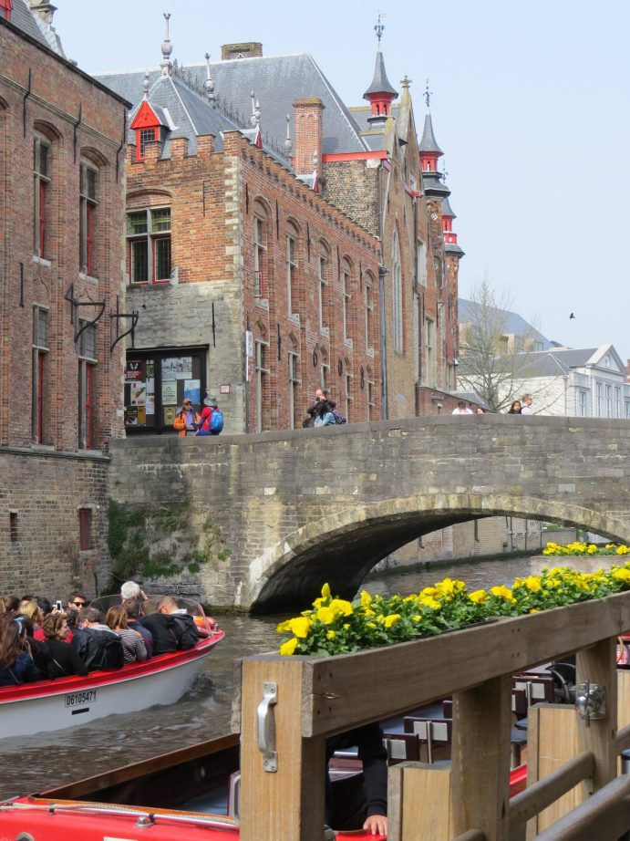 Passeio de barco - Bruges